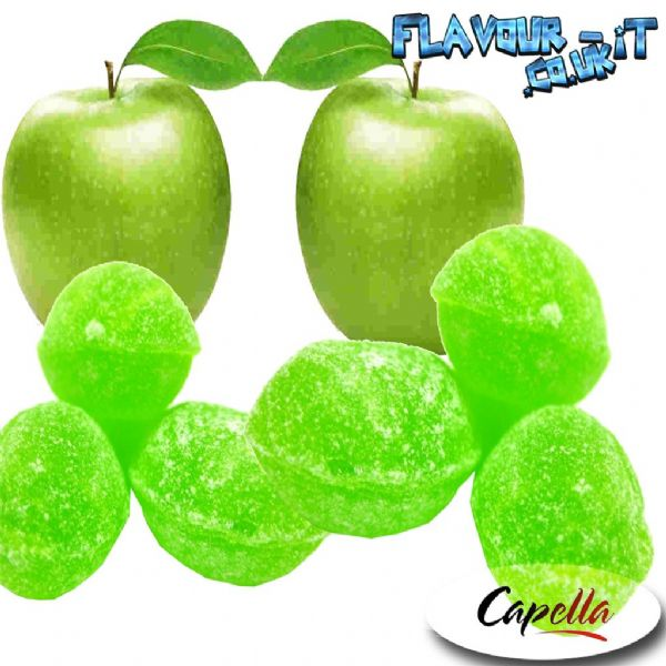 Capella Green Apple Hard Candy Flavour Drops (NEW )